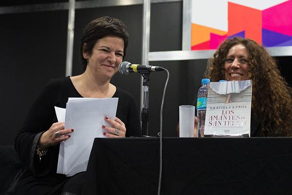 Feria Internacional del Libro de Buenos Aires con Camucha Escobar 11