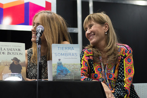 Feria Internacional del Libro de Buenos Aires con Camucha Escobar 12