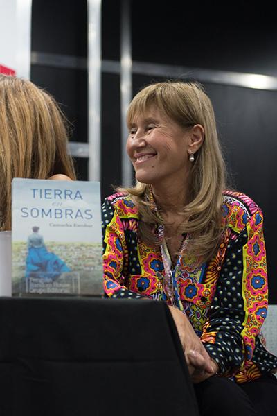 Feria Internacional del Libro de Buenos Aires con Camucha Escobar 13