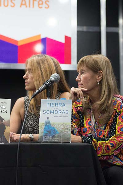 Feria Internacional del Libro de Buenos Aires con Camucha Escobar 19