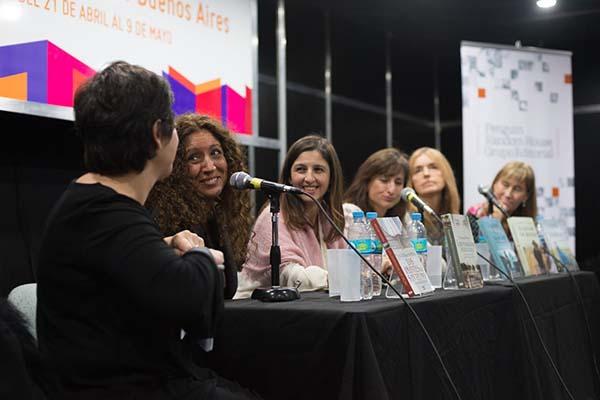 Feria Internacional del Libro de Buenos Aires con Camucha Escobar 21