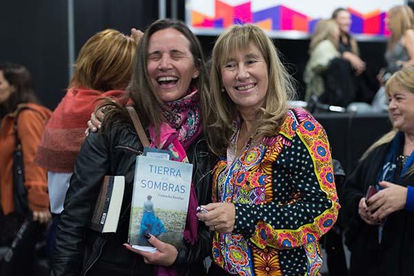 Feria Internacional del Libro de Buenos Aires con Camucha Escobar 22